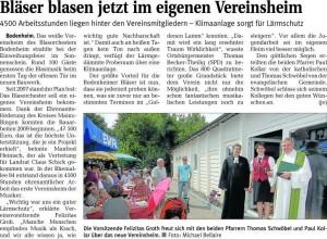 Artikel der Mainzer Rhein-Zeitung v. 25.08.2010