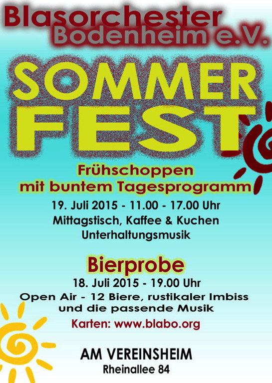 Bierprobe & Sommerfest